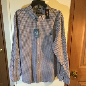 Chaps Size XL Long Sleeve Button Down Shirt NEW
